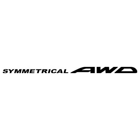 Symmetrical AWD Decal