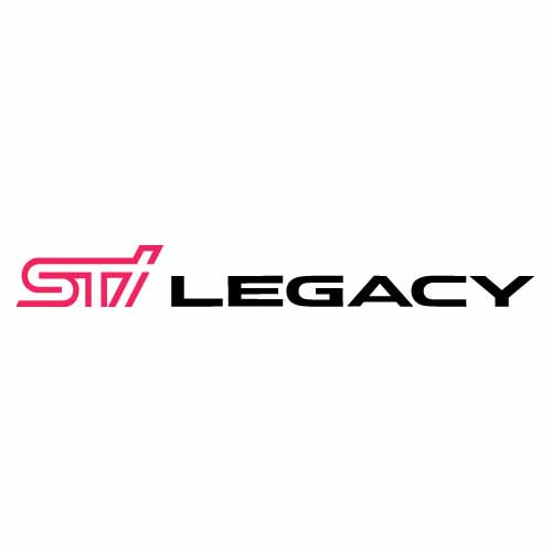 STi Legacy Decal - Two Color